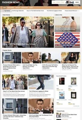 Amazon Affiliate Earning News Automatic Website Make Money Online