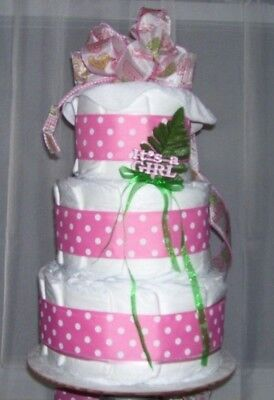 Baby Christmas Games (BABY SHOWER Games Girl Diaper Cake Party Favor Baby Christmas Gift Pink)