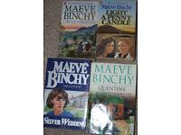 Maeve Binchy books, 50p-£1 each.