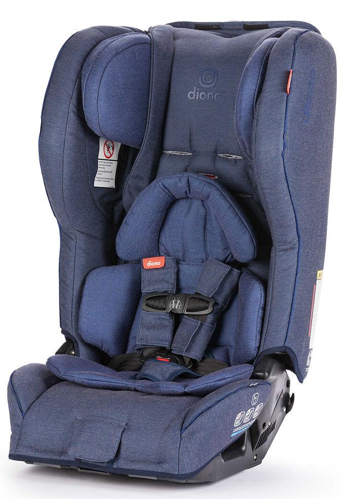 Diono Rainier 2 AXT Convertible Child Safety Car Seat + Boos