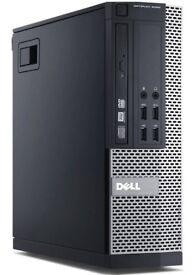 DELL 9020 4TH GEN i7-4770 PC 3.6GHZ 16GB 3TB HDD WIN 10 1GB GRAPHICS