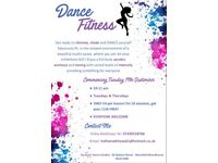 Dance Fitness Classes!