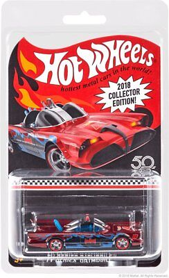 2018 Collector Edition Hot Wheels Kmart Classic 1966 Batmobile Batman TV Series