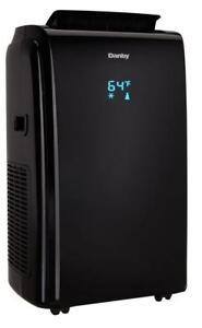 Climatiseur portatif Danby, 14 000 BTU, Modèle 4 en 1, Noir