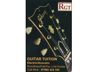 GUITAR TUITION - Beginner to advanced. Specialist in Blues and Classic Rock. Electric and Acoustic.