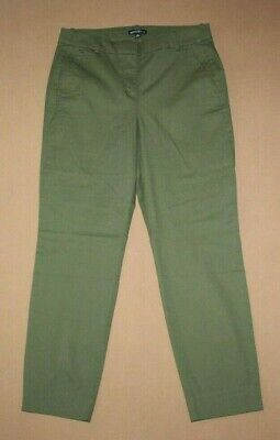 NWT J CREW MERCANTILE Womens Effortless Slim Crop Chino Pants Size 6
