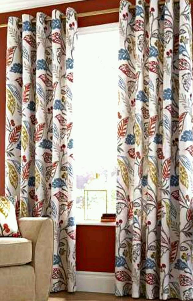 Multi Coloured Curtains In Coleraine County Londonderry