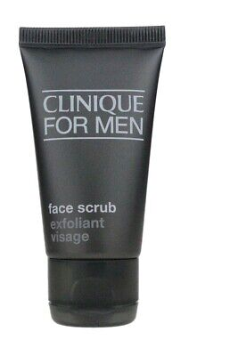 CLINIQUE for MEN Face SCRUB Wash Normal to Dry Skin Exfoliating 30ml 1oz NEW for sale  Shipping to India