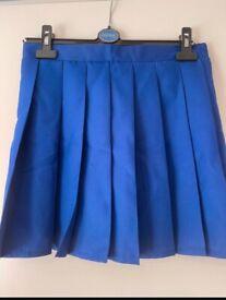 Dark blue tennis skirt