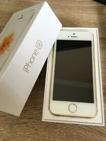 Apple iPhone SE Rose Gold 64GB- Excellent Conditon- Unlocked -Sim Free-phone smart mobile