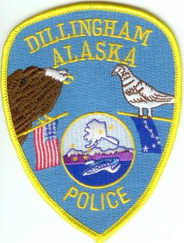 Dillingham Police Alaska Police patch