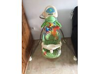 Used fisher price forest baby swing chair