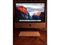 Apple iMac 20inch El Capitan