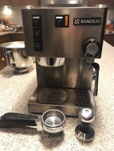 Rancilio Silva Espresso Machine