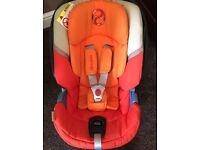 Cybex Aton 4 car seat in autumn gold - really good condition