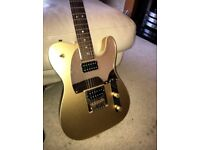 Squier J5 Frost Gold Telecaster