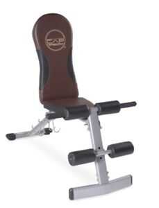 Brand new and Assembled! CAP Barbell Flat/Incline/Decline Bench