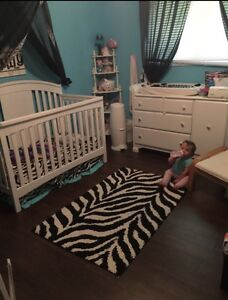 Zebra baby room collection