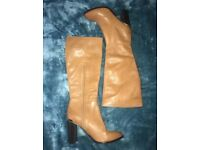 RIVER ISLAND LADIES LEATHER BOOTS