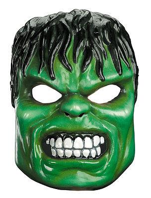 Hulk Maske Kinder Marvel Comics Brandneu