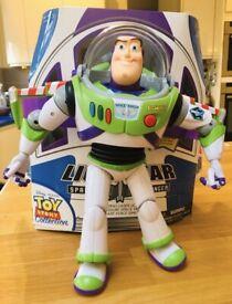 "Buzz Lightyear talking activity figure, 12"", boxed"