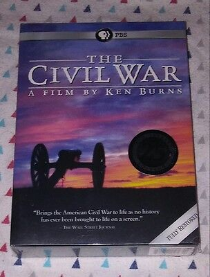 New  Pbs  Ken Burns  The Civil War  2015 Anniversary Ed  6 Disc Set  Ships Free