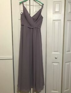 Dusty lavender bridesmaid dress