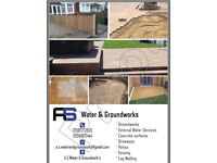 A.S Water&Groundworks.. Very competitive prices!