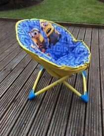 Minion Folding Kids Chair