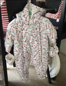Brand New Baby Girl Pram Suits