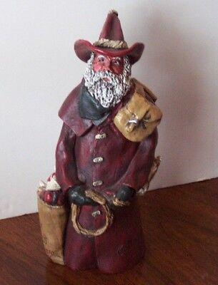 Cowboy Santa Claus St Nick's Pony Express 11