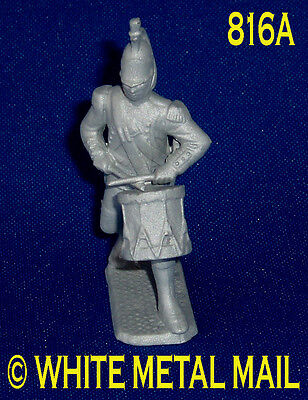 Napoleonic Casting 816A 1:32 Scale Napoleonic French Foot Dragoon - Drummer