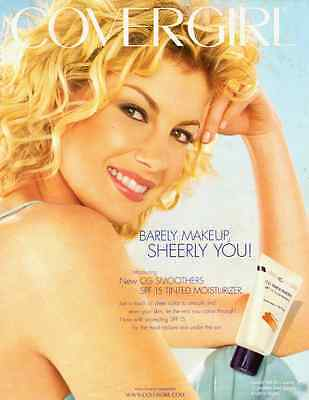 2001 glamour ad, COVERGIRL, CG Smoothers spf15 moisturizer -