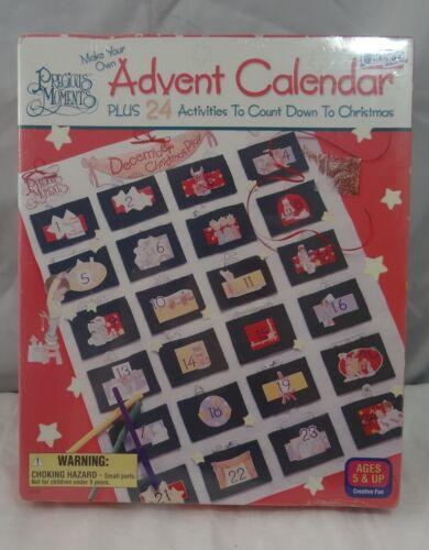 Precious Moments Advent Calendar Craft Kit Cadaco 9260 NOS Christmas Activities