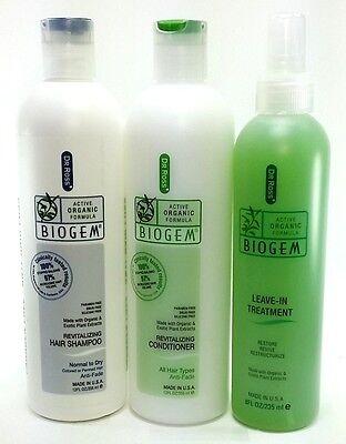 Dr Ross' biogem (NORMAL to DRY) shampoo conditioner treatment set for sale  Sacramento