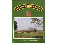 RAILWAY BOOK. THE LNER REMEMBERED BY J S WHITELEY AND G W MORRISON FOR SALE
