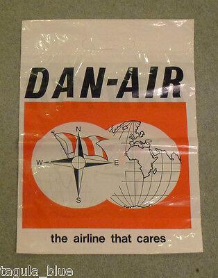 DAN AIR CARRIER BAG - ORIGINAL DAN-AIR MEMORABILIA