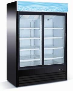 Display Fridge - Commercial Glass Door Cooler - BEST price - Ships from Langley!