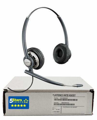 Plantronics HW720 EncorePro Wideband Headset (78714-101) Renewed, 1 Yr Warranty
