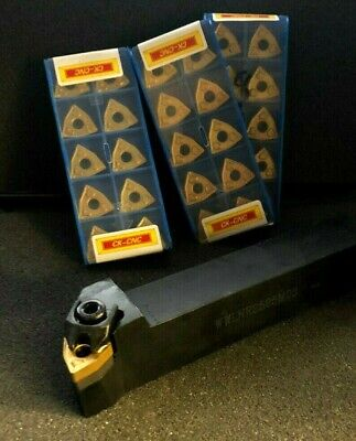 Wnmg Lathe Tool Holder 10 Pcs Carbide Inserts 58
