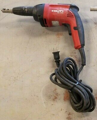 Hilti Sd 2500 Screwgun Drywall Screwdriver