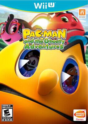 Pac-Man and the Ghostly Adventures Wii-U New Nintendo Wii U, nintendo_wii_u