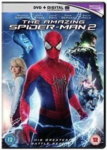 The Amazing Spider-Man 2 [DVD] [2014] Andrew Garfield Brand New Sealed
