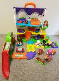 Vtech Toot Toot House and People Bundle