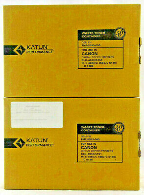 2-pack Katun Fm2-5383-000 Waste Container For Canon Copiers Compatible Free Ship