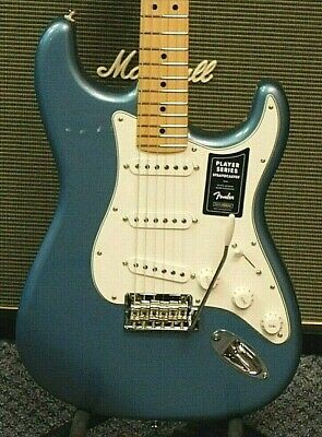 2021 Fender Player Stratocaster Electric Guitar! Tidepool Finish! NO RESERVE!