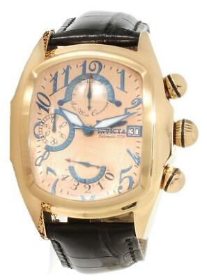 Invicta 12600 Dragon Lupah Valjoux 7750 Chronograph Date Mens Watch