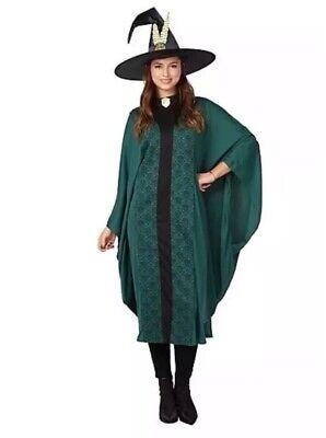 Harry Potter Professor McGonagall Adult Fancy Dress Costume ONE - Harry Potter Professor Kostüm
