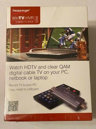 Hauppauge! WINTV-HVR 950Q Hybrid TV Stick - Model 1191 - TV To PC - NEW SEALED