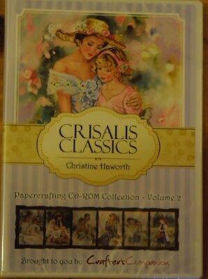 Crafters Companion Crisalis Classics Christine Haworth CD-Rom Paper Crafting 2